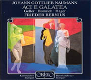 CD-Cover Johann Gottlieb Naumann, Aci e Galatea