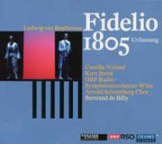 CD-Cover Ludwig van Beethoven, Fidelio, Original Version 1805