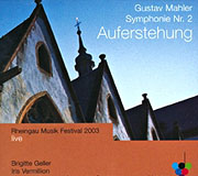 CD-Cover Gustav Mahler, Symphonie No. 2