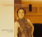CD-Cover Opera in Jazz